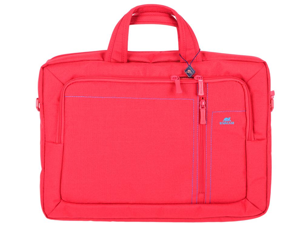 Сумка для ноутбука 15.6 Riva 7530 полиэстер красный adda ad7512hb 7530 dc12v 0 24a
