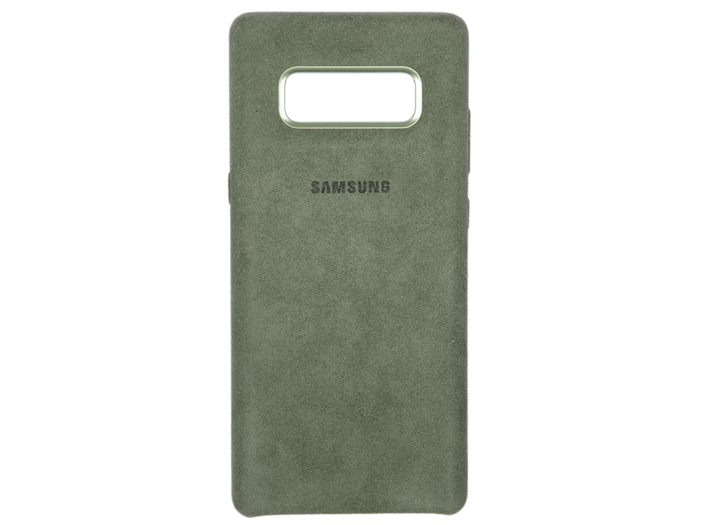 Чехол-накладка для Samsung Galaxy Note 8 Samsung Alcantara Cover Great Khaki клип-кейс, алькантара, поликарбонат чехол накладка для samsung galaxy j8 samsung dual layer cover black клип кейс полиуретан поликарбонат