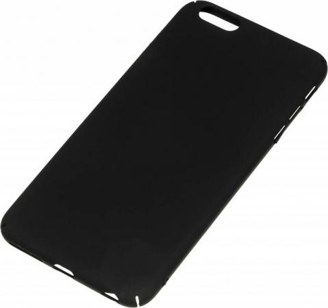 Чехол Red Line iBox Fresh для iPhone 6 Plus/6S Plus чёрный УТ000010067 чехол клип кейс redline ibox fresh для apple iphone 6 6s красный [ут000010062]