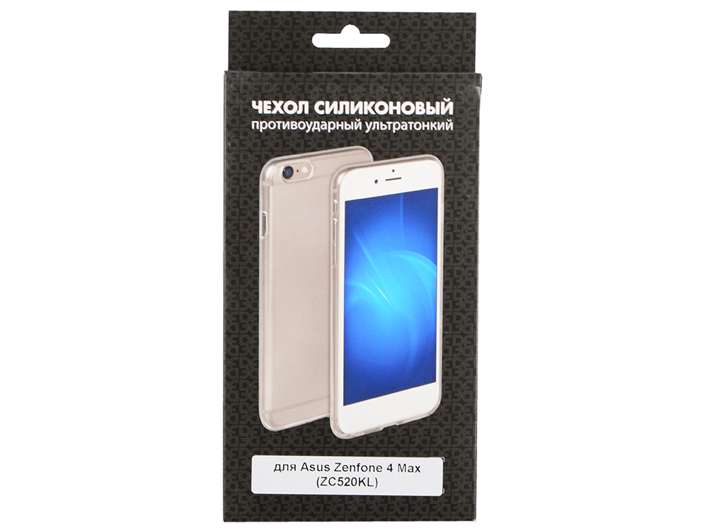 Силиконовый чехол для Asus Zenfone 4 Max (ZC520KL) DF aCase-40 силиконовый чехол для asus zenfone 4 selfie pro zd552kl df acase 43