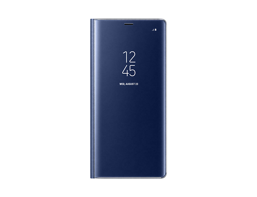 Чехол Samsung EF-ZN950CNEGRU для Samsung Galaxy Note 8 Clear View Standing Cover Great синий аксессуар чехол samsung galaxy note 8 protective standing cover dark blue ef rn950cnegru