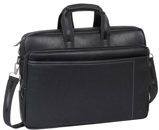 Сумка для ноутбука 16 Riva 8940 PU искусственная кожа черный micocah женщин сумка pu кожа простой