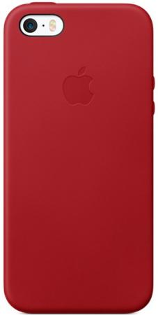 Чехол Apple MR622ZM/A для iPhone 5 iPhone 5S iPhone SE красный чехол для iphone apple iphone se leather case product red mr622zm a