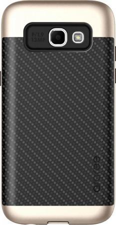 Чехол Samsung для Samsung Galaxy A7 2017 Amy Classic золотистый GP-A720KDCPBAA аксессуар чехол samsung galaxy a7 2017 with love moscow silicone russia 5090