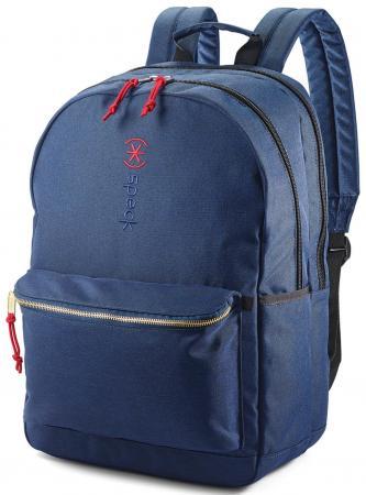 Рюкзак для ноутбука 15.6 Speck Classic 3 Pointer нейлон/полиэстер синий 90697-1596 рюкзак для фотокамеры 15 speck rockhound oss полиэстер серый 89100 1174