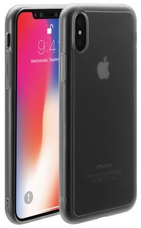 Чехол-накладка Just Mobile TENC для iPhone X. Материал пластик. Цвет: прозрачный матовый.