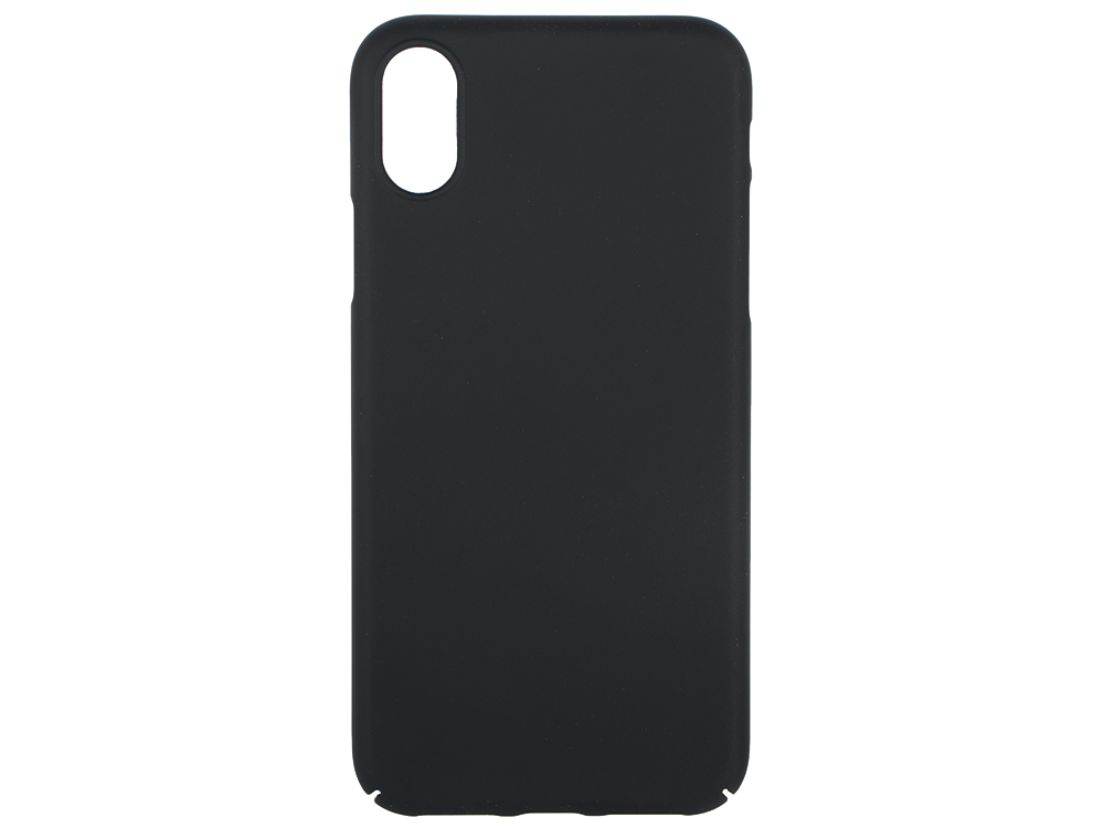 Чехол-накладка для Apple iPhone X Deppa Air Case Black клип-кейс, поликарбонат