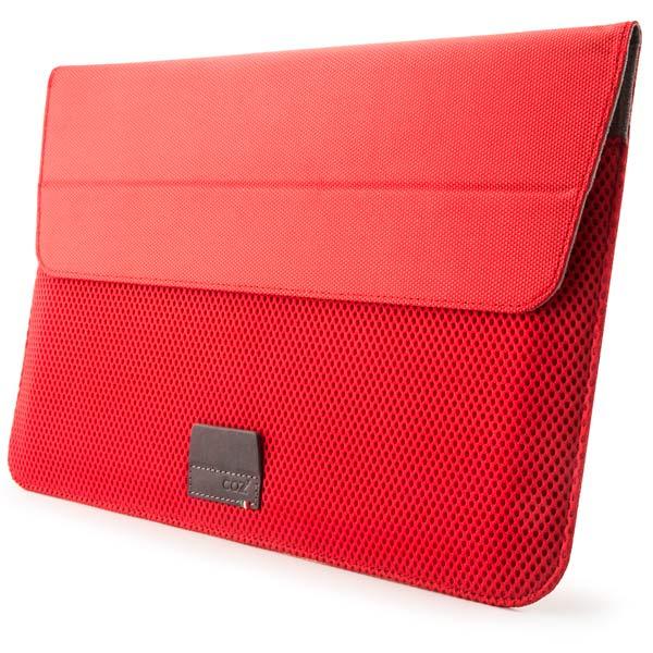 Чехол для ноутбука MacBook 11 Air Cozistyle ARIA Stand Sleeve красный CASS1111 сумка для ноутбука cozistyle aria stand sleeve for macbook 11 cass1111 lily white