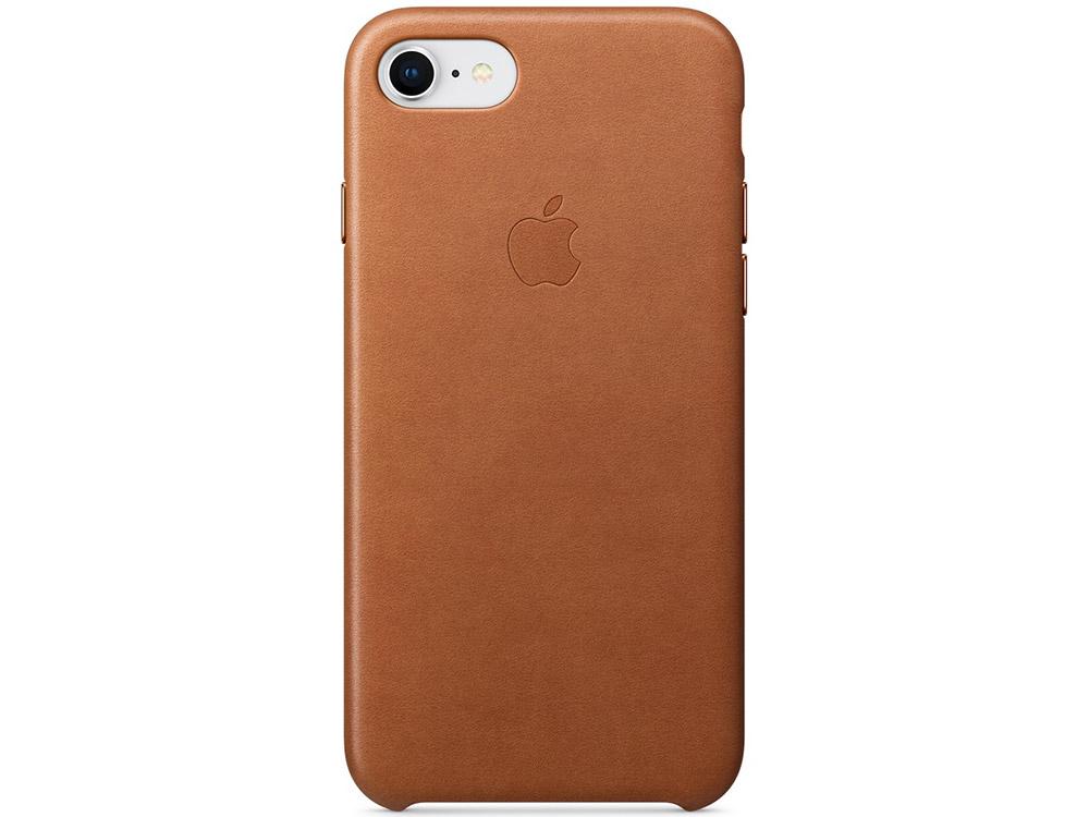 Накладка Apple Leather Case для iPhone 8 iPhone 7 коричневый MQH72ZM/A
