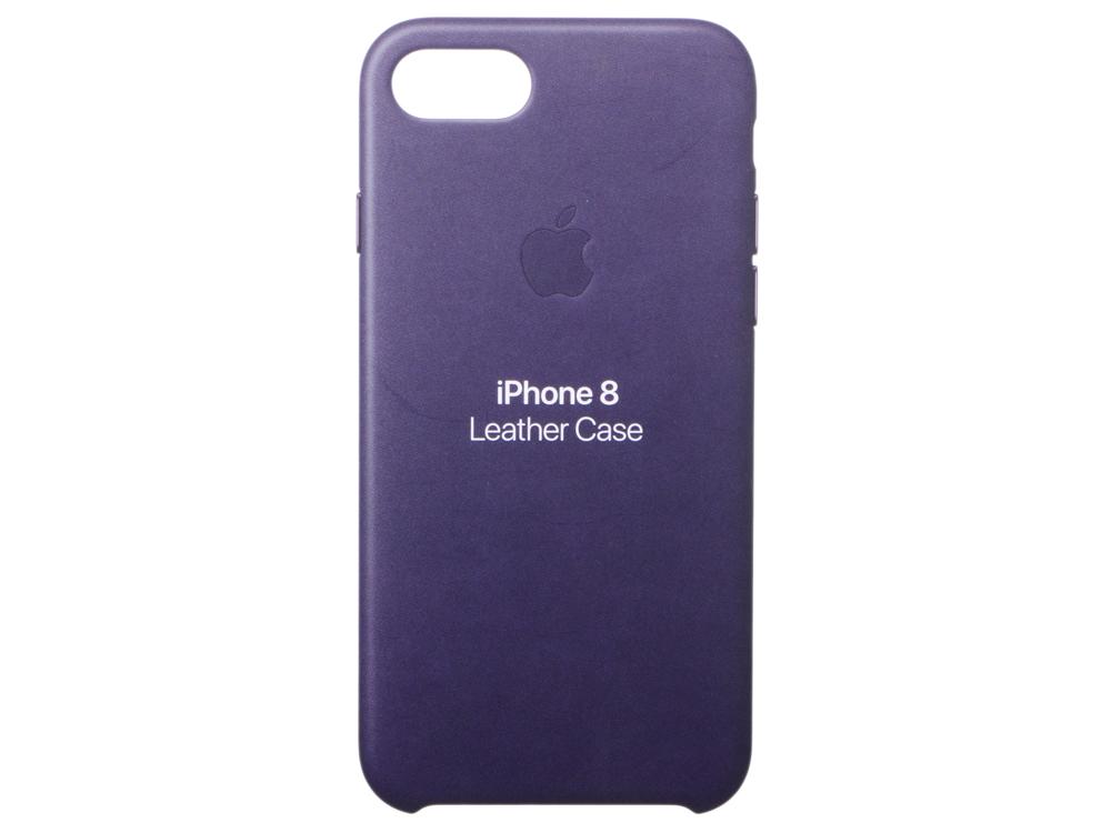 Накладка Apple Leather Case для iPhone 7 iPhone 8 баклажанный MQHD2ZM/A