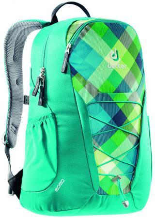 Рюкзак Deuter GO GO 25 л 3820016-3216 сине-зеленая клетка велорюкзак с отделением для ноутбука deuter giga bike 28 л 80444 3980 сине голубой