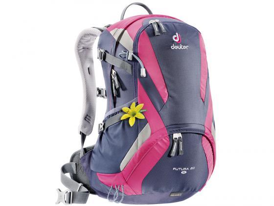 Городской рюкзак Deuter Futura 20 SL 20 л фиолетовый розовый 34194 -3503 рюкзак deuter bike compact exp 10 sl blueberry mint