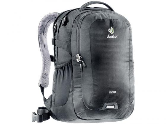 Городской рюкзак с отделением для ноутбука Deuter Giga 28 л черный 80414 -7000 рюкзак deuter daypacks giga aubergine check б р uni