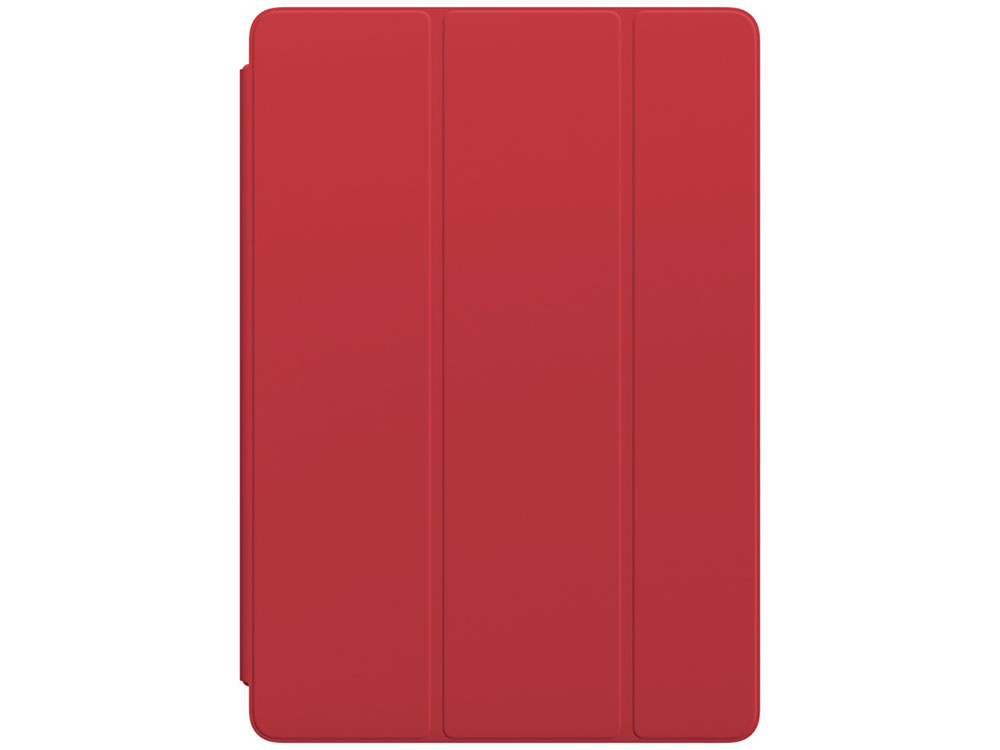 Чехол-книжка для iPad Pro 10.5 Apple Smart Cover MR592ZM/A Red флип, полиуретан fashion 360 rotating case for ipad pro 12 9 inch litchi leather stand back cover apple fundas