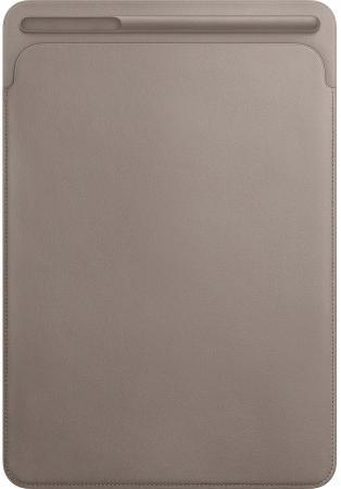 Фото - Чехол Apple Leather Sleeve для iPad Pro 10.5 платиново-серый MPU02ZM/A чехол apple leather case для iphone x платиново серый