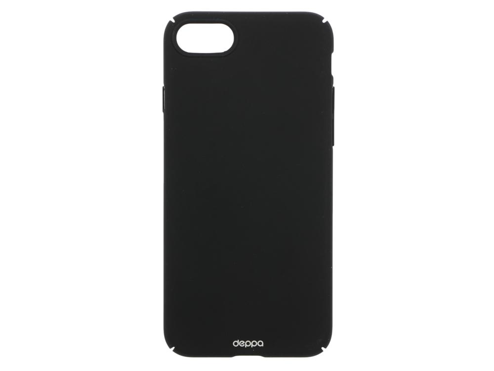 Чехол Deppa Air Case для Apple iPhone 7 / iPhone 8, черный, 83267 чехол для iphone 5 iphone 5s deppa air case розовый