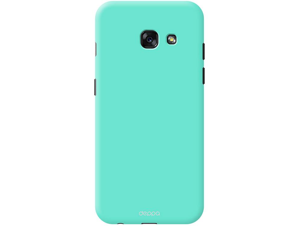 все цены на Чехол Deppa Air Case для Samsung Galaxy A3(2017), мятный, 83283 онлайн