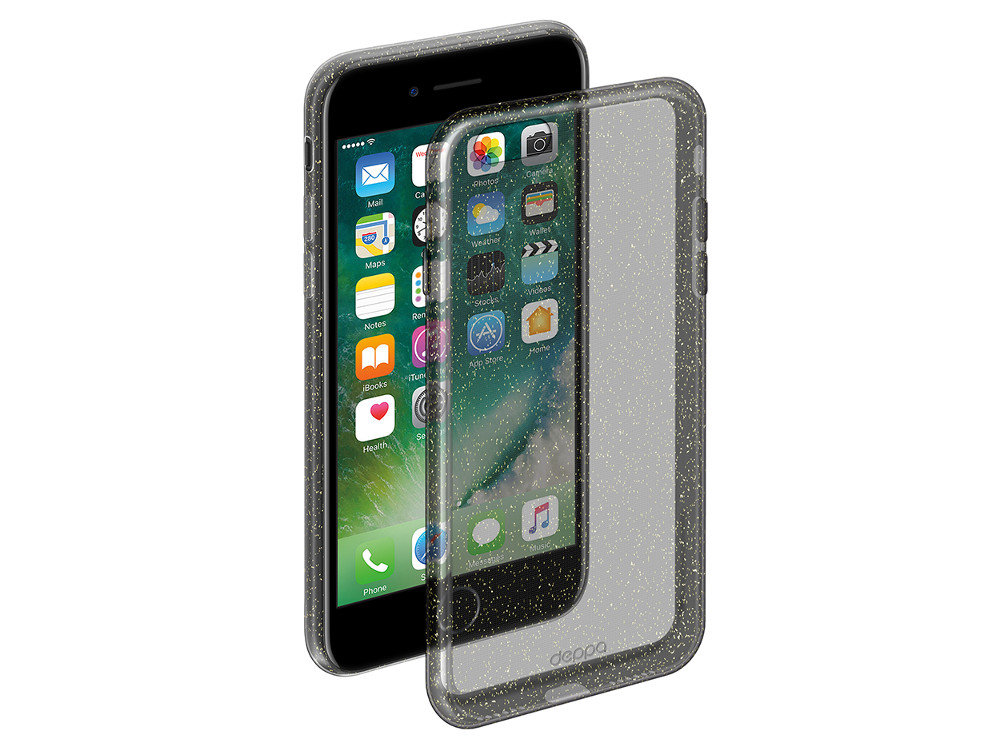 Чехол Deppa Chic Case для Apple iPhone 6/6S, графит, 85295 deppa deppa art case world of tanks зверобой для apple iphone 6 6s чехол бампер