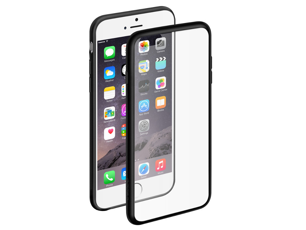 Чехол Deppa Neo Case для Apple iPhone 6/6S, черный, 85218 deppa deppa art case world of tanks зверобой для apple iphone 6 6s чехол бампер