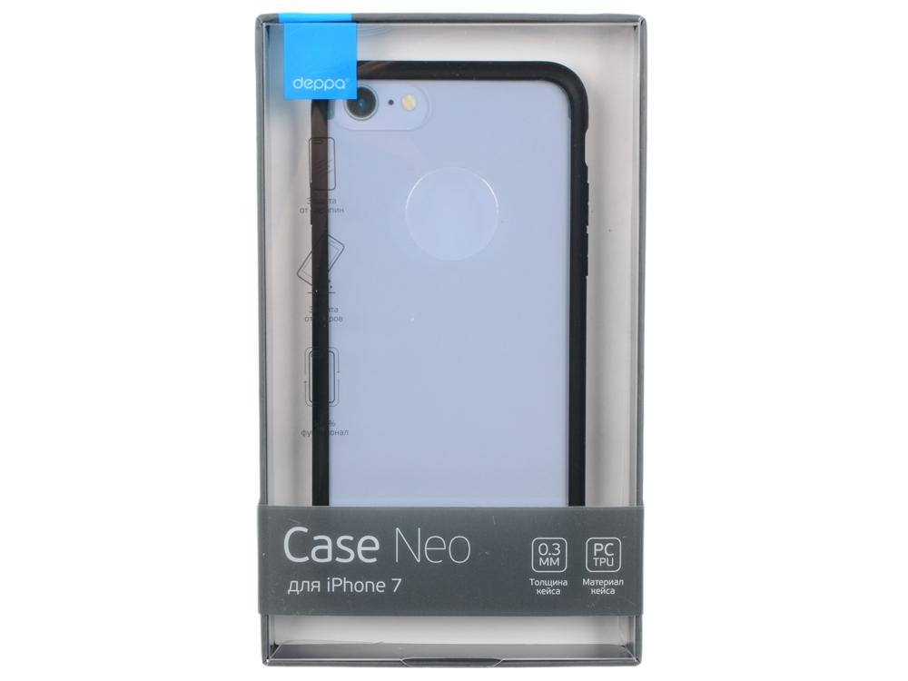 Чехол Deppa Neo Case 85279 для Apple iPhone 7 / iPhone 8, черный