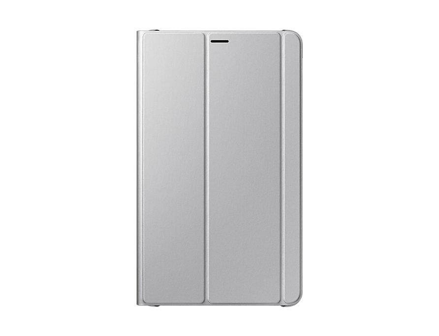 Чехол Samsung для  Galaxy Tab  8.0 Book Cover полиуретан/поликарбонат серебристый EF-BT385P