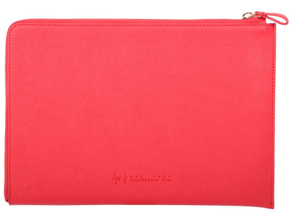 Сумка для ноутбука 13.3 HP Spectre Red L-Zip Sleeve (2HW35AA#ABB) сумка для ноутбука 15 6 hp duotone blue briefcase y4t19aa abb