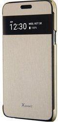 Чехол флип-кейс LG для LG X Power 2 M320 VOIA золотистый аксессуар чехол lg x power 2 m320 zibelino classico black zcl lg m320 blk