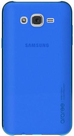 Чехол-накладка для Samsung Galaxy J7 neo  araree Blue клип-кейс, поликарбонат