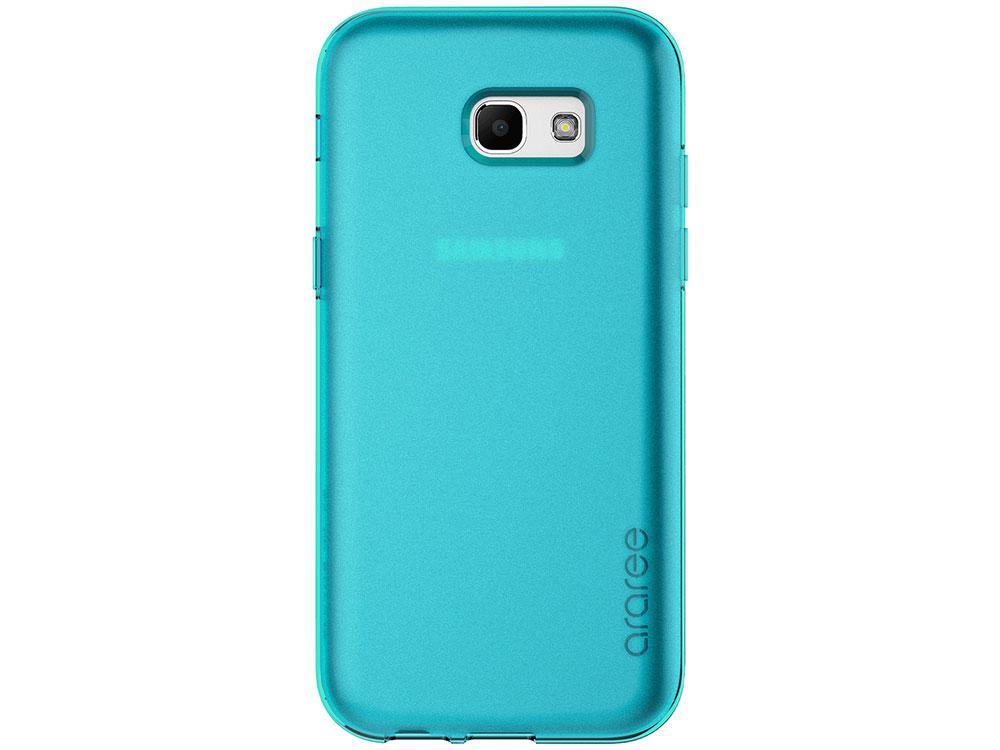 Чехол Samsung для Samsung Galaxy A7 2017 araree Airfit синий GP-A720KDCPAAC аксессуар чехол samsung galaxy a7 2017 with love moscow silicone russia 5090