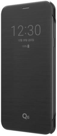 Чехол флип-кейс LG для LG Q6 M700 VOIA черный чехол флип кейс lg для lg v30 h930 voia черный