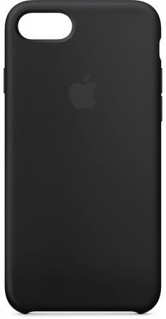 Накладка Apple MQGK2ZM/A для iPhone 7 iPhone 8 чёрный чехол для iphone apple iphone 8 7 silicone case black mqgk2zm a
