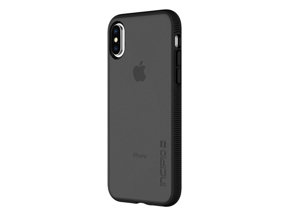 Фото Накладка Incipio Octane для iPhone X прозрачный чёрный IPH-1632-BLK чехол incipio feather для iphone 7 чёрный iph 1467 blk