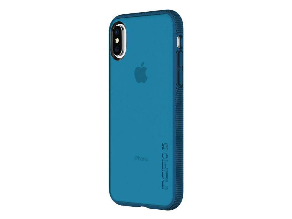 Накладка Incipio Octane для iPhone X прозрачный синий IPH-1632-NVY доска разделочная frybest md 1836