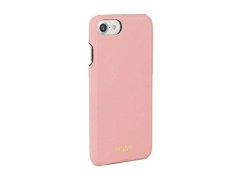Чехол-накладка dbramante1928 London для iPhone 8/7/6s/6. Материал натуральная кожа/пластик. Цвет роз чехол накладка для iphone 6 ozaki o coat 0 3 jelly oc555tr пластик прозрачный