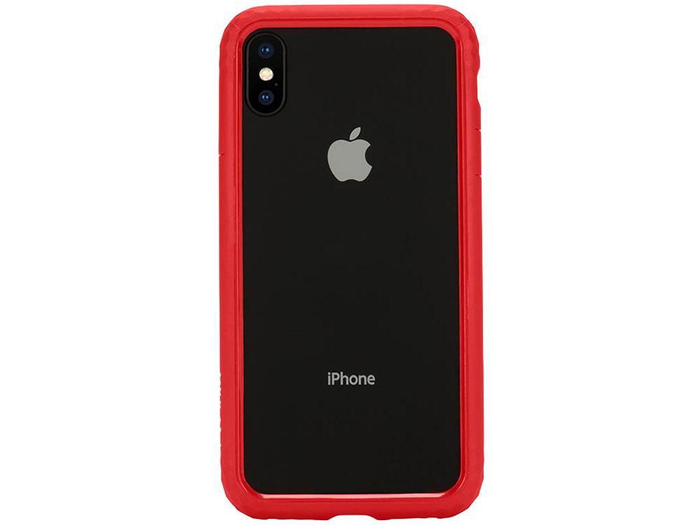 Бампер Incase Frame Case для iPhone X красный INPH190376-RED