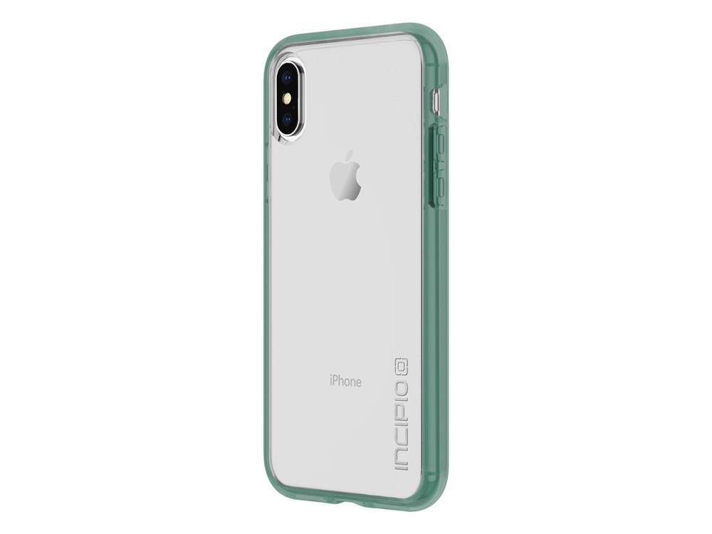 Накладка Incipio Octane Pure для iPhone X прозрачный зеленый IPH-1638-MNT octane mebelvia