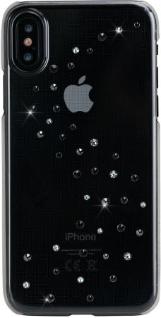 Чехол Bling My Thing для iPhone X, с кристаллами Swarovski. Материал пластик. Коллекция Milky Way. Д чехол bling my thing для iphone x пластик черный ipx lp bk non