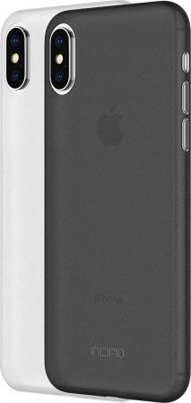Накладка Incipio Feather Light для iPhone X чёрный белый IPH-1645-FSM накладка vipe color для iphone x чёрный vpipxcolblk