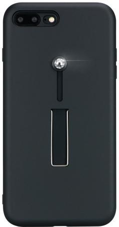 Чехол Bling My Thing для iPhone 8 Plus\7 Plus, с кристаллами Swarovski. Коллекция SelfieLOOP. Цвет ч