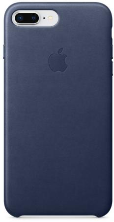 Панель кожаная Apple для iPhone 8 Plus/7 Plus midnight blue incase pop case чехол для apple iphone 6 plus 6s plus clear midnight blue