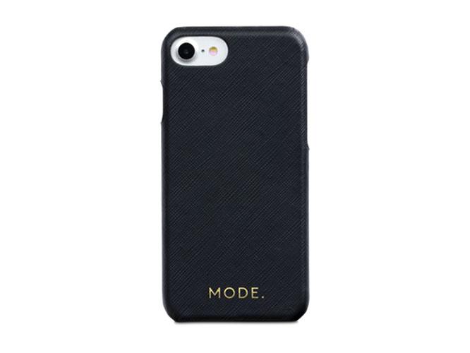 Чехол-накладка dbramante1928 London для iPhone 8/7/6s/6. Материал натуральная кожа/пластик. Цвет чер чехол накладка для iphone 6 ozaki o coat 0 3 jelly oc555tr пластик прозрачный