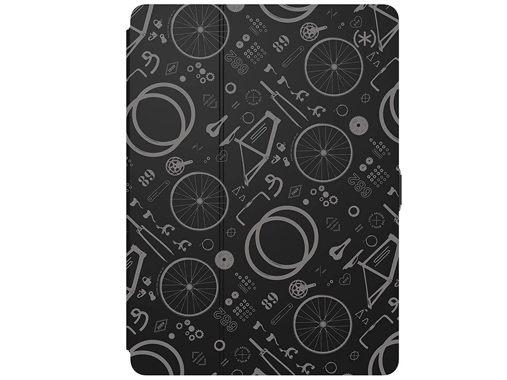 Чехол-книжка для iPad Pro 10.5 Speck Balance FOLIO BikePart Black флип, полиуретан, пластик аксессуар чехол speck balance folio для ipad pro 10 5 purple pink 91905 7265