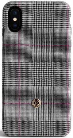 Панель Revested Timeless для iPhone X Prince of Wales серый чехлы для телефонов timeless кобура на ремень чехол для телефона timeless