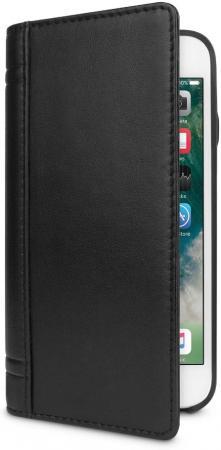 Чехол-книжка Twelve South Journal для iPhone Plus 8/7/6s/6 кожа черный 12-1665