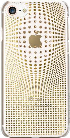 Чехол Bling My Thing Warp Deluxe для iPhone 8 пластик золотистый ip8-wd-cl-gld