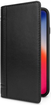Чехол-книжка Twelve South Journal для iPhone X кожа черный 12-1743 док станция twelve south magic bridge 12 1633