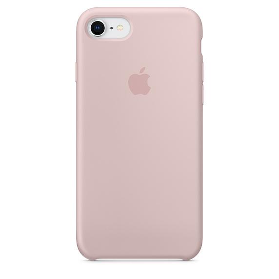 Чехол-накладка для iPhone 8/7 Apple MQGQ2ZM/A Pink клип-кейс, кожа чехол клип кейс apple mqtd2zm a для apple iphone x черный