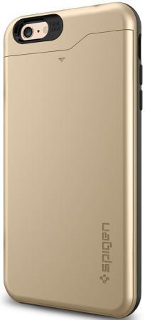Чехол (клип-кейс) SGP Slim Armor CS Case для iPhone 6 Plus золотой SGP10913 чехол для iphone 7 sgp slim armor 042cs20842 ультра черный