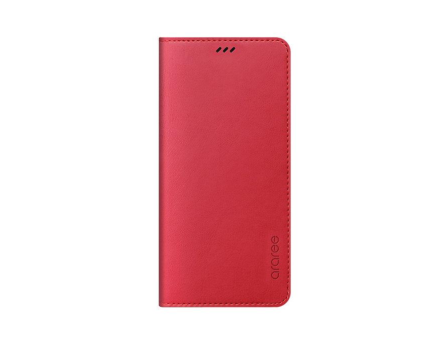 Чехол (флип-кейс) Samsung для Samsung Galaxy A8+ Designed Mustang Diary красный (GP-A730KDCFAID) чехол флип кейс lazarr frame case для samsung galaxy s4 gt i 9500 красный