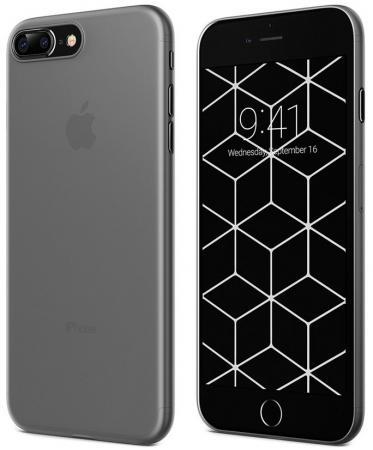 Накладка Vipe Ultra Slim для iPhone 7 Plus iPhone 8 Plus чёрный VPIP7PFLEXBLK накладка vipe color для iphone x чёрный vpipxcolblk